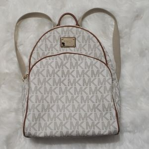 """MICHAEL KORS JET SET COLLECTION """"ABBEY"""" BACKPACK"""